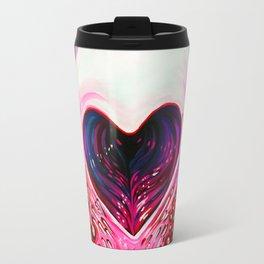 Heart Skull Travel Mug