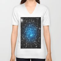 galaxy V-neck T-shirts featuring GaLaXY by 2sweet4words Designs