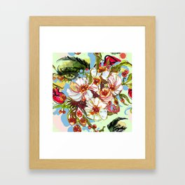 Eye of wisdom Framed Art Print