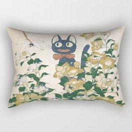 Jiji from Kiki's delivery service vintage japanese mashup Rectangular Pillow