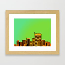 Cityscape Collage 04A Framed Art Print