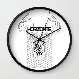 HORIZON DEER Wall Clock