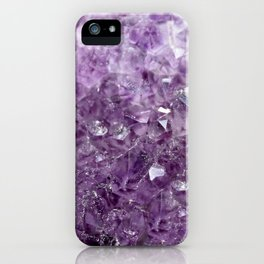Amethyst Sparks iPhone Case