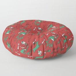 Santa Express Floor Pillow