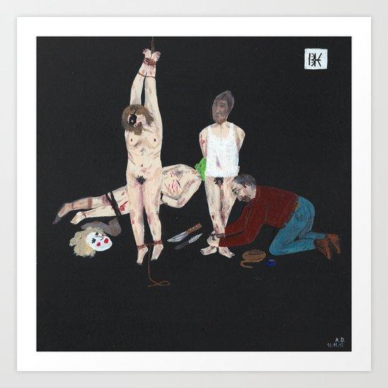 BTK-Killer Art Print