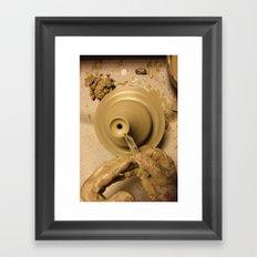 ceramic Framed Art Print