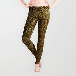 Mandala Royal - Cinnamon & Gold Leggings