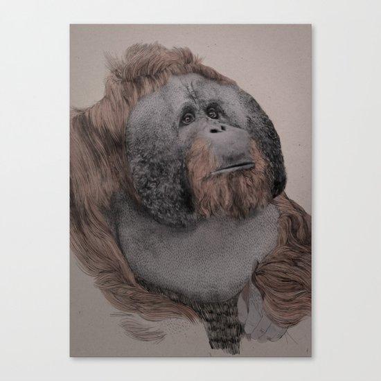 Orangutan! Canvas Print