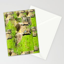 Canadian Geese and Babies Stationery Cards