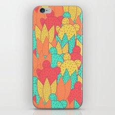 Cactus field iPhone Skin