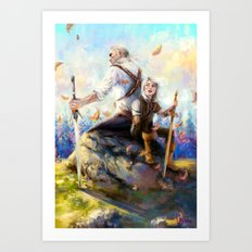 Happy Autumn Art Print