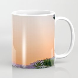 Between the Palms (Color) Coffee Mug