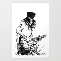 Rock and Roll! Art Print