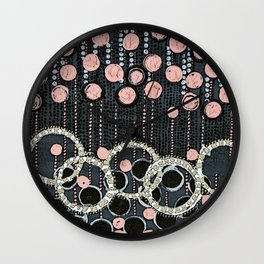 :: Her Pearls :: Wall Clock