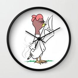 Jerk Chicken Wall Clock