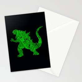 Japanese Monster - II Stationery Cards