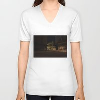baltimore V-neck T-shirts featuring Baltimore by Nick Coleman