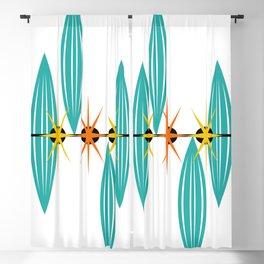 Mid-Century Modern Art 1.5 Blackout Curtain