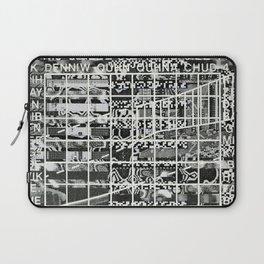 A Symbol of Belonging (P/D3 Glitch Collage Studies) Laptop Sleeve
