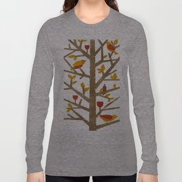 birds and wine Long Sleeve T-shirt