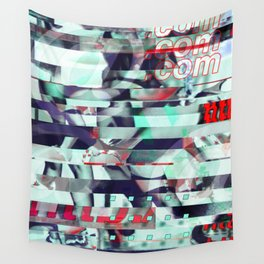 Glitch Decon 3 Wall Tapestry