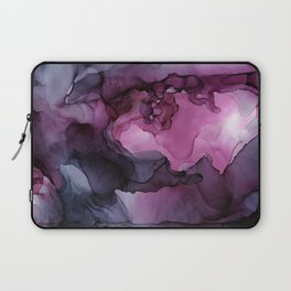 Abstract Ink Painting Ethereal Flowing Watercolor Nebula Laptop Sleeve