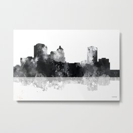 Montgomery, Alabama Skyline Metal Print