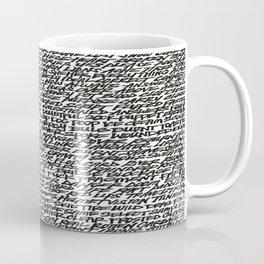 Word Coffee Mug