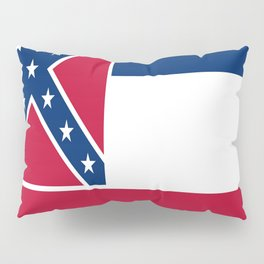 Flag of mississippi-flag of mississippi,south,Mississippian,usa, america,jackson,gulfport,Southaven Pillow Sham