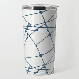 Abstract Mosaic Pattern 1 Pairs to Delicate White PPG1001-1 and Chinese Porcelain PPG1160-6 Travel Mug