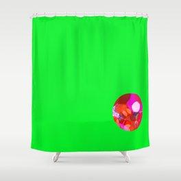 SexyPlexi dots ball Shower Curtain