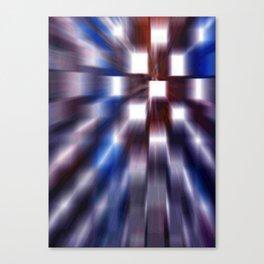 Windows Blue Canvas Print