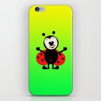 ladybug iPhone & iPod Skins featuring Ladybug by Digital-Art