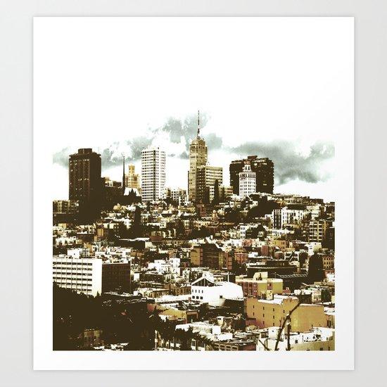 sanscape 2 Art Print