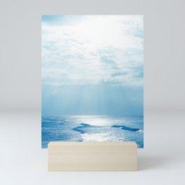 Hookipa Beach Blue Sensation Mini Art Print