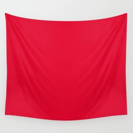 Apple Red Wall Tapestry