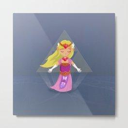 Windwaker Zelda Metal Print
