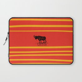 bullfighting corrida Laptop Sleeve