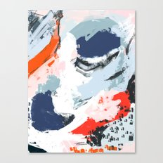 Abstract Color Pop Canvas Print