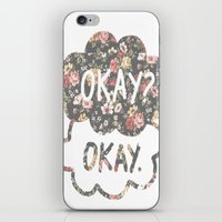 tfios iPhone & iPod Skins featuring OKAY?OKAY THE FAULT IN OUR STARS TFIOS HAZEL AUGUSTUS CLOUDS #2 by monalisacried