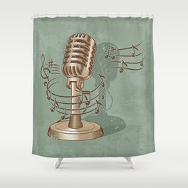 Old Shower Curtain