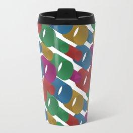 3D X Pipes Travel Mug