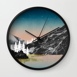 Night Fall Wall Clock