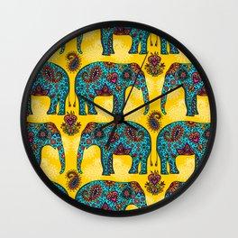 elefantes Wall Clock