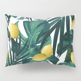 Tropical Lemon Twist Jungle #1 #tropical #decor #art #society6 Pillow Sham