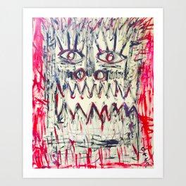 Esprit du Primitif by Johnny Otto Art Print