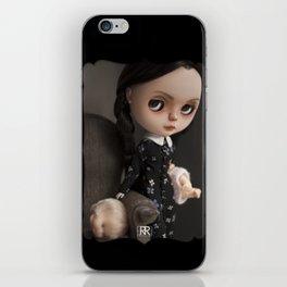 Erregiro Blythe Custom Doll Wednesday Addams iPhone Skin