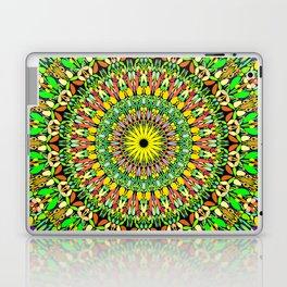Floral Sun Garden Mandala Laptop & iPad Skin