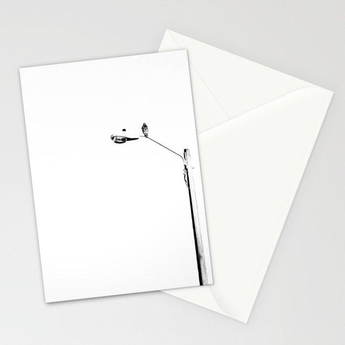 Perching Hawk Stationery Cards