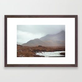 Scottish landscape, I Framed Art Print